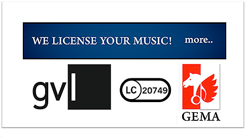 We license yyour music!
